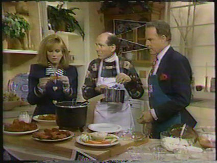 Marty Stein, Kathy Lee and Frank Gifford