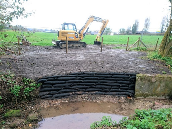 Completed Works, Bishops Sutton Outfall
