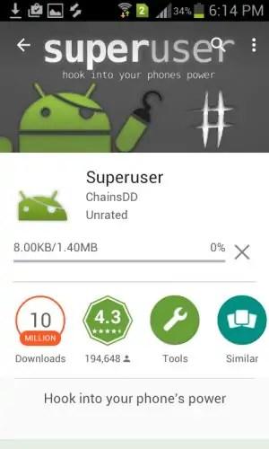 Install Superuser Application