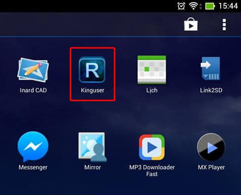 Kinguser App In Android Device