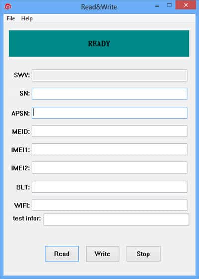 Download Read&Write Tool (IMEI Tool)