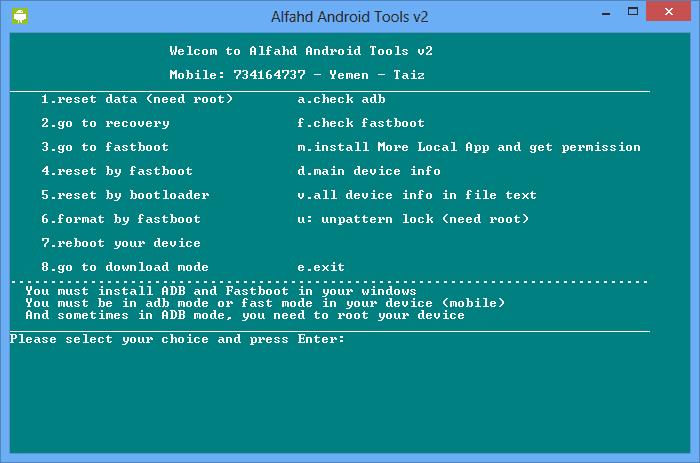 Download Alfahd Android Tools