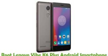 Root Lenovo Vibe K6 Plus