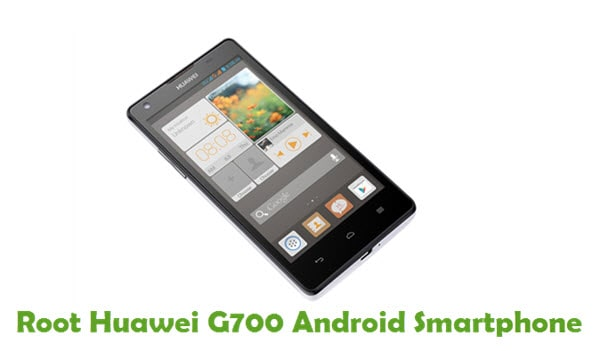 How To Root Huawei Ascend G700 Android Smartphone