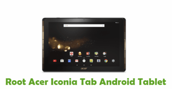 Root Acer Iconia Tab