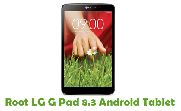 How To Root LG G Pad 8.3 Android Tablet