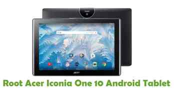 Root Acer Iconia One 10