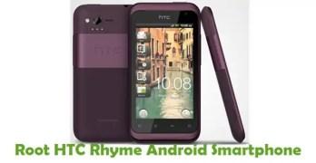 Root HTC Rhyme