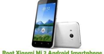 Root Xiaomi Mi 2