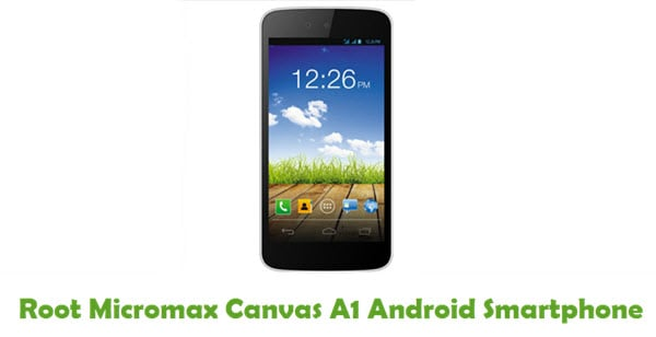 How To Root Micromax Canvas A1 Android Smartphone