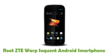 Root ZTE Warp Sequent