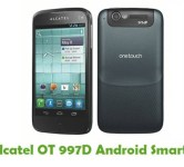 How To Root Alcatel OT 997D Android Smartphone