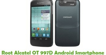 Root Alcatel OT 997D