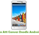 How To Root Micromax A111 Canvas Doodle Android Smartphone