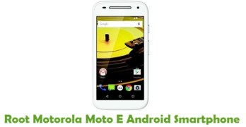Root Motorola Moto E