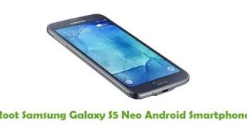 Root Samsung Galaxy S5 Neo