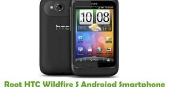 Root HTC Wildfire S