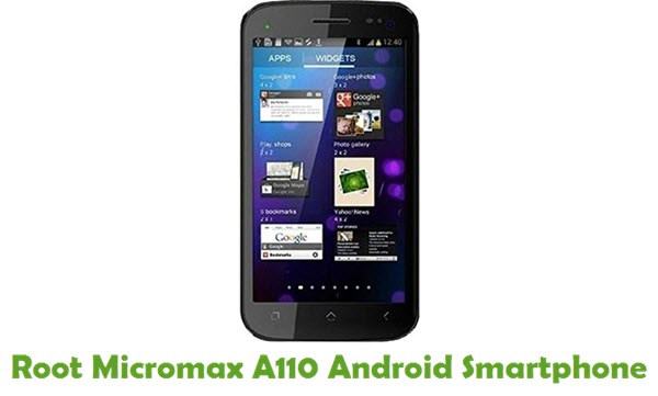 Root Micromax A110