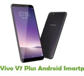 How To Root Vivo V7 Plus Android Smartphone