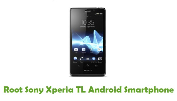 Root Sony Xperia TL