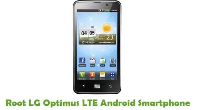 Root LG Optimus LTE