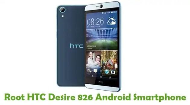Root HTC Desire 826