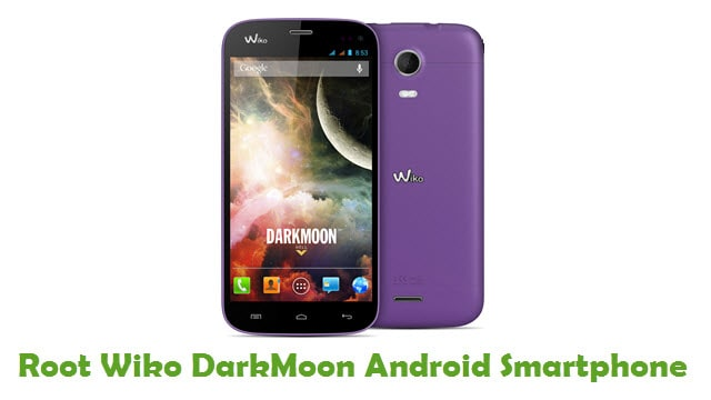 Root Wiko DarkMoon