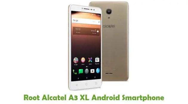Root Alcatel A3 XL