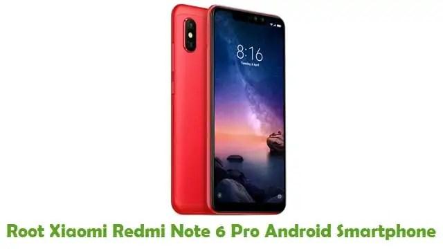 Root Xiaomi Redmi Note 6 Pro