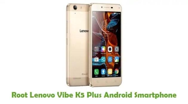 Root Lenovo Vibe K5 Plus