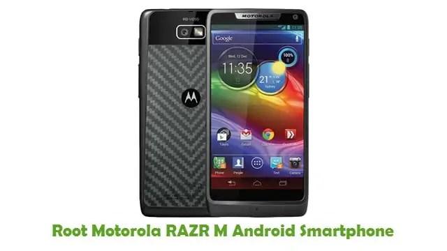Root Motorola RAZR M