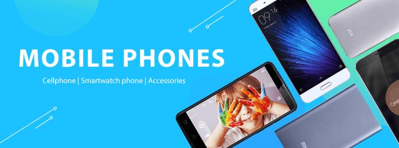 GearBest Top Brand Phones Deal