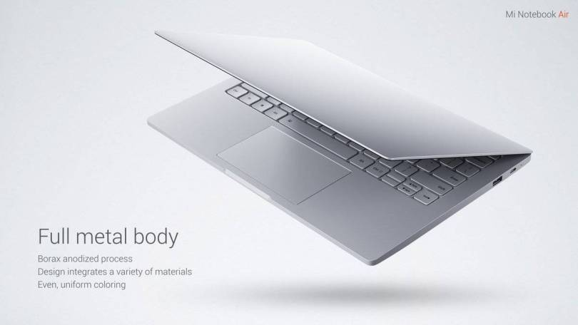 Xiaomi Air 12.5 Laptop Full Metal Body