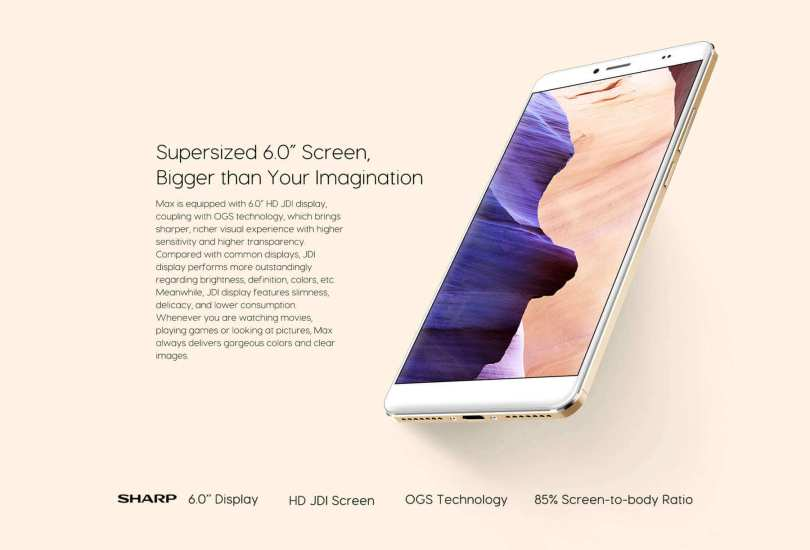 bluboo-maya-max-4g-phablet-display