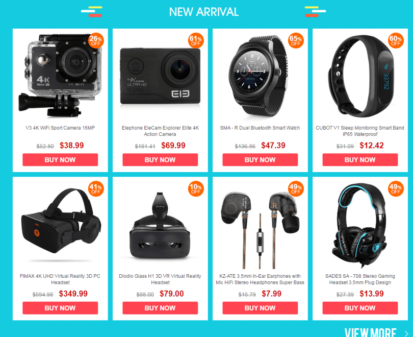 Consumer Electronic Sale new arrivals