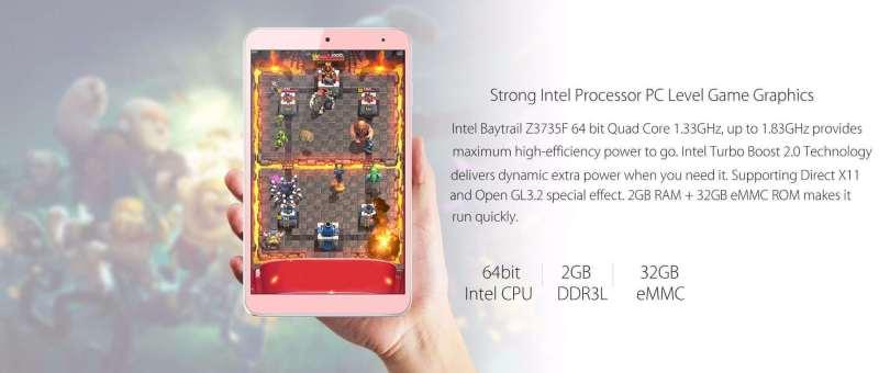 Onda V80 SE Tablet PC CPU