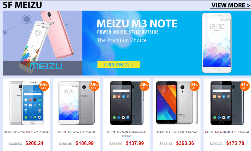 Top Brand Smart Phone Sale- Meizu