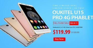 Oukitel U15 Pro 4G Phablet Promo sale