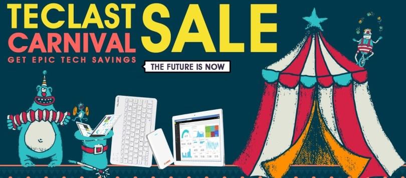 Teclast Carnival Promotional Sale (Teclast tablets 50% Off)