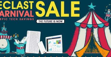 Teclast Carnival Promotional Sale (Teclast tablets 50% Off)