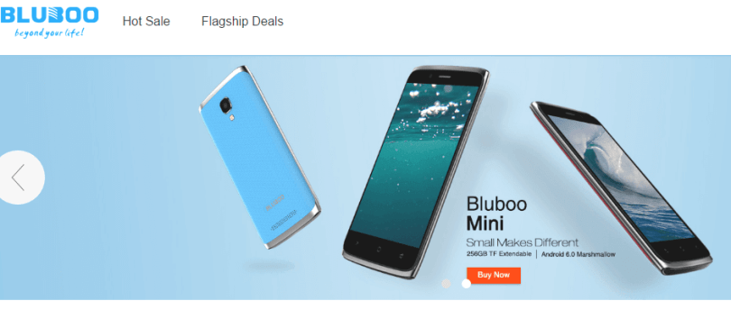 Bluboo Official Store Promotional Sale