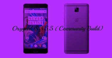 Download & Install OxygenOS 3.5.5 On OnePlus 3 Community Build