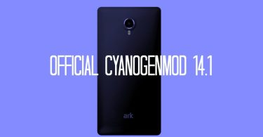 Download and Install Official CM 14.1 On Ark Benefit A3 (Android 7.1.1)