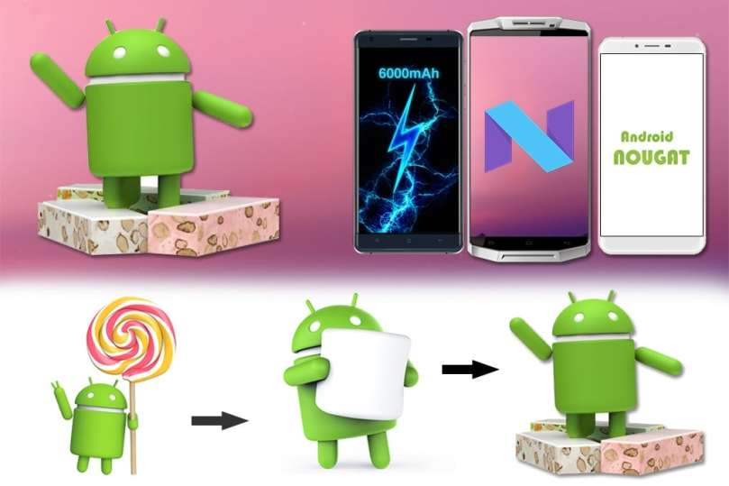 OUKITEL releases plans for Android Nougat updating on several models