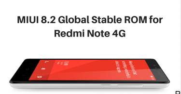 MIUI 8.2 Global Stable ROM on Redmi Note 4G