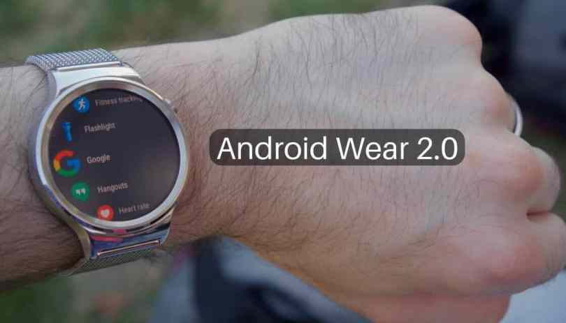 Android Wear 2.0 beta
