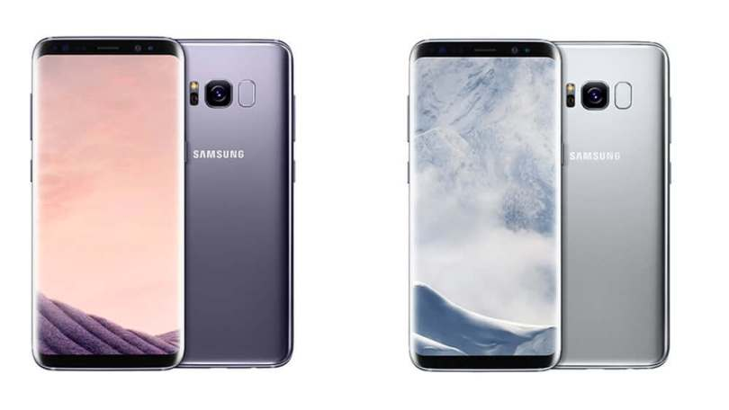Download the system dump and stock apps for Samsung Galaxy S8