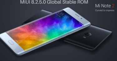 MIUI 8.2.5.0 Global Stable ROM on Mi Note 2