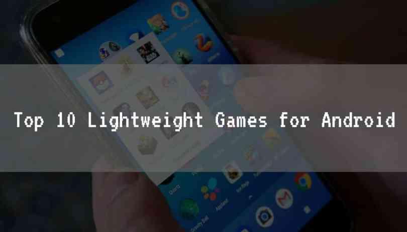Lightweight Games