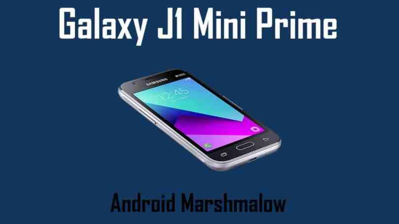 wnload and Install Galaxy J1 Mini Prime (SM-J106B) J106BUBU0AQD1 Android 6.0.1 Update